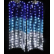 Par Fan Véu LED Leque
