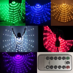 Asa Wings LED c/ Controle Remoto 8 Funções