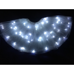 Saia Tutu Tule de LED Adulto