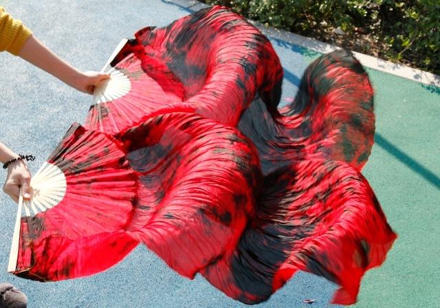 vermelho pintado